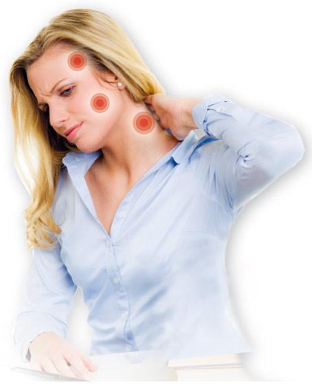 Kopf, Hals und Nackenchmerzen